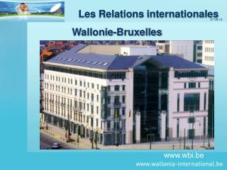 Les Relations internationales Wallonie-Bruxelles