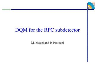 DQM for the RPC subdetector