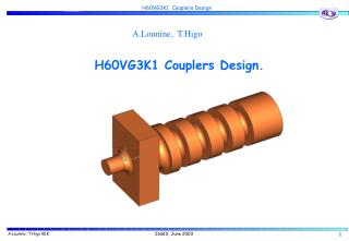 H60VG3K1 Couplers Design.