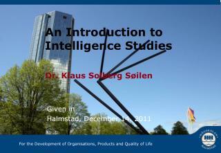 Dr. Klaus Solberg S øilen