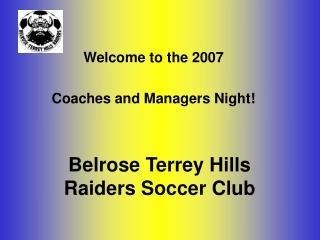 Belrose Terrey Hills Raiders Soccer Club
