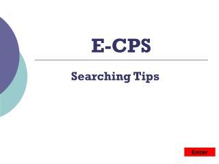 E-CPS