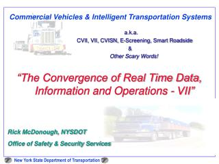 Commercial Vehicles & Intelligent Transportation Systems