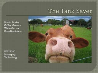 The Tank Saver