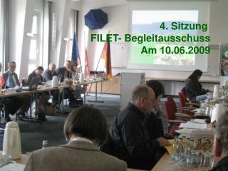 Tagesordnung 4. Sitzung des Begleitausschusses