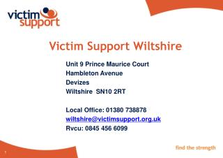 Victim Support Wiltshire