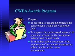 CWEA Awards Program