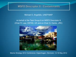 MSFD Descriptor 8 - Contaminants