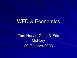 WFD & Economics