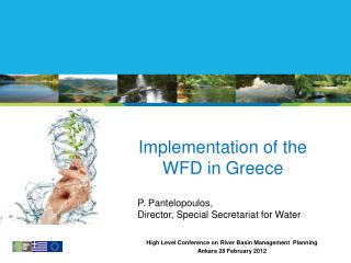 Implementation of the WFD in Greece