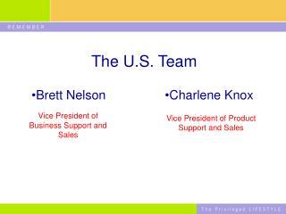 The U.S. Team