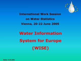 Water Information  System for Europe  (WISE)