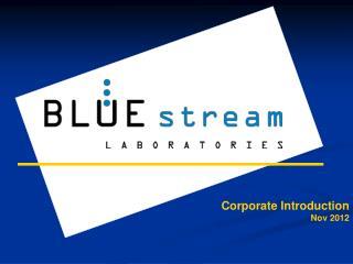 Corporate Introduction Nov 2012