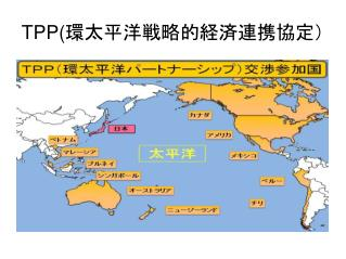 TPP( 環太平洋戦略的経済連携協定)