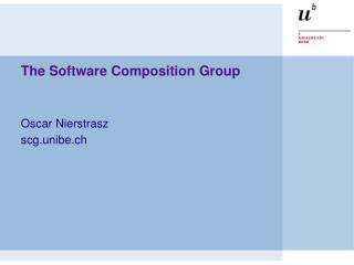 The Software Composition Group