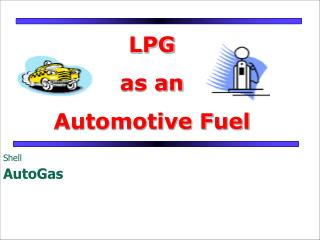 LPG  as an Automotive Fuel