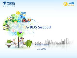 A-BDS Support