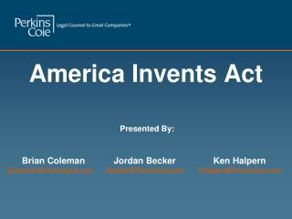 America Invents Act