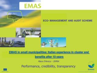 ECO- MANAGEMENT AND AUDIT SCHEME
