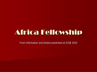 Africa Fellowship