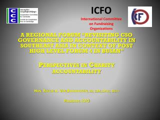 ICFO International Committee on Fundraising Organizations