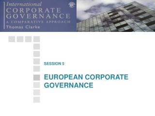 EUROPEAN CORPORATE GOVERNANCE