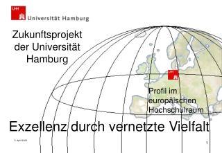 Zukunftsprojekt der Universität Hamburg