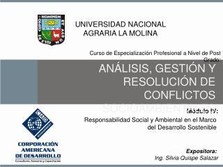 Responsabilidad Social y Ambiental en el Marco del Desarrollo Sostenible