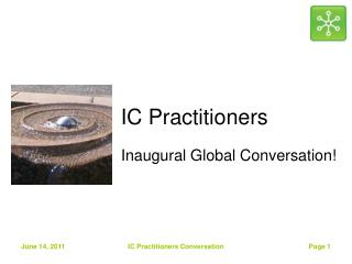 IC Practitioners