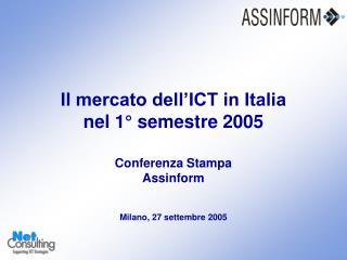 Il mercato italiano dell'ICT (2002-2004)