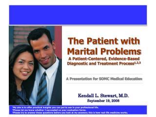 Kendall L. Stewart, M.D. September 19, 2008