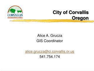 City of Corvallis Oregon