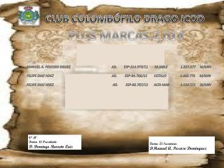 CLUB COLOMB�FILO DRAGO ICOD