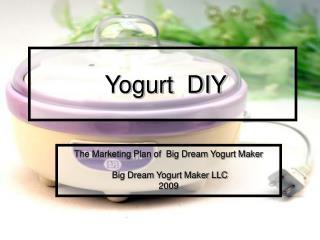 Yogurt  DIY