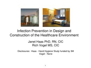Infection Prevention in Design and Construction of the Healthcare Environment