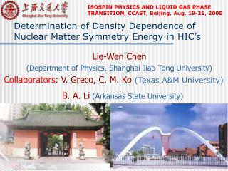 Determination of Density Dependence of Nuclear Matter Symmetry Energy in  HIC�s