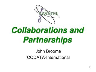 Collaborations and Partnerships