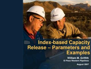 Index-based Capacity Release – Parameters and Examples