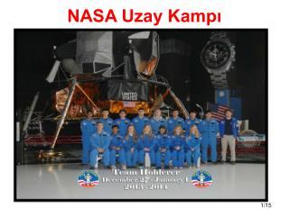 NASA Uzay Kamp?