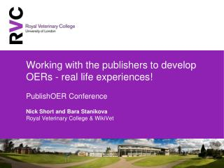 Academia working with Publishers