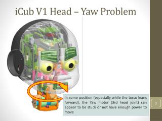 iCub V1 Head – Yaw Problem