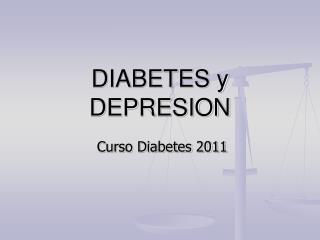 DIABETES y DEPRESION