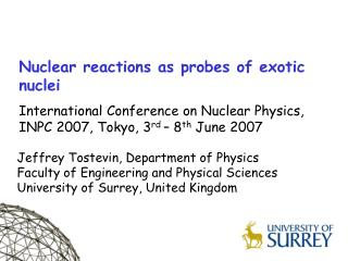 Nuclear reactions as probes of exotic nuclei