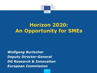 Horizon 2020: An Opportunity for SMEs