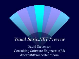 Visual Basic.NET Preview