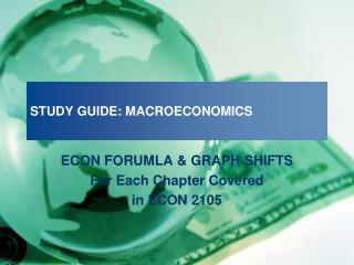 STUDY GUIDE: MACROECONOMICS