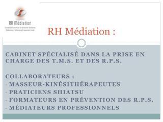 RH Médiation :