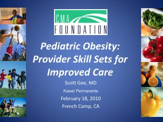 Pediatric Obesity:  Provider Skill Sets for Improved Care