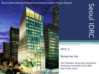 Seoul IDRC