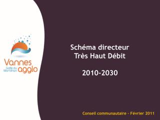 Schéma directeur  Très Haut Débit 2010-2030
